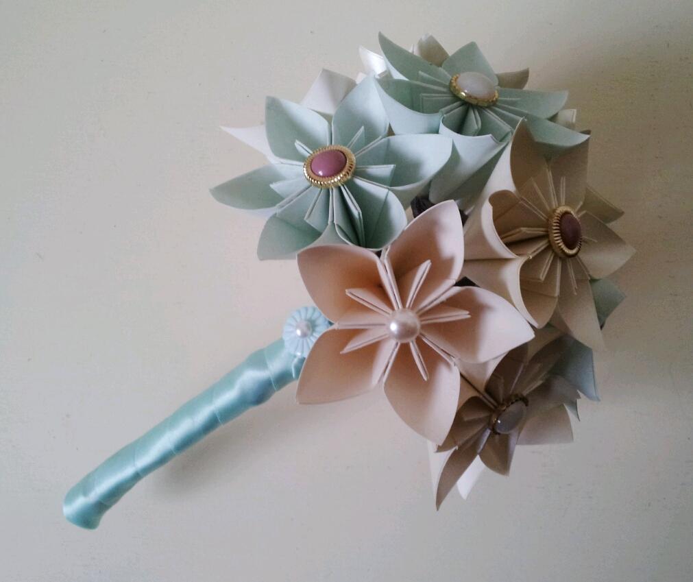 Alternative, Unique Paper Flower Bouquets