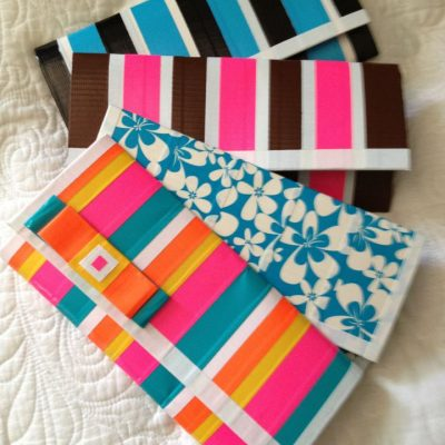 Unique and Chic Duct Tape Designs