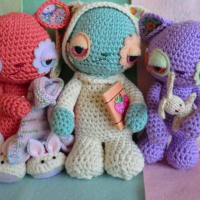 Cute and slighty creepy crochet