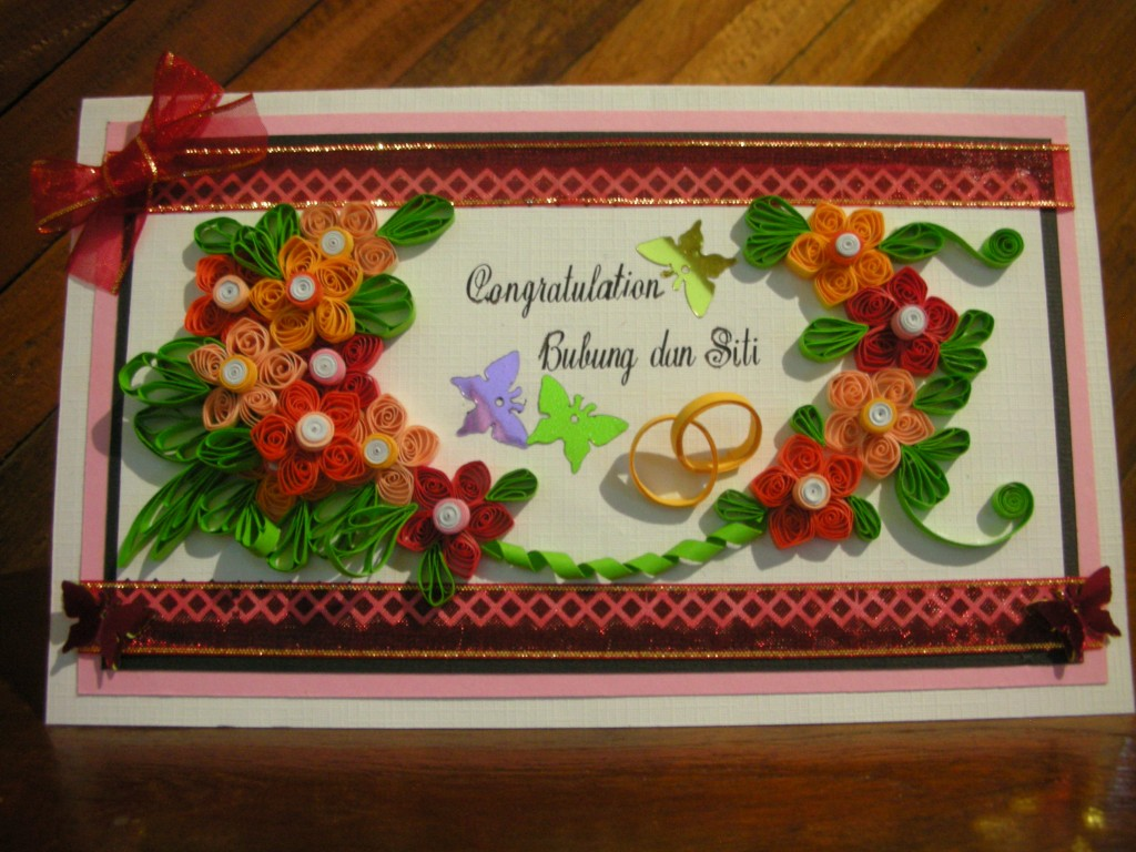 Handmade quilling projects and quilled invitations for How to sell handmade crafts on facebook