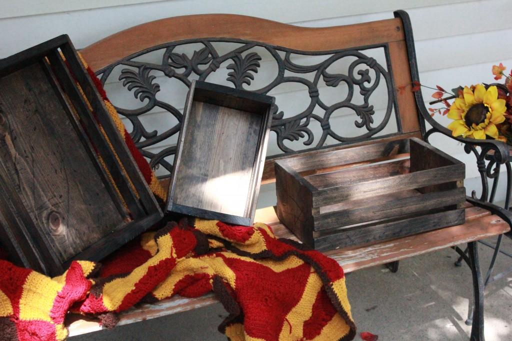 Elegant Or Rustic Custom Crates