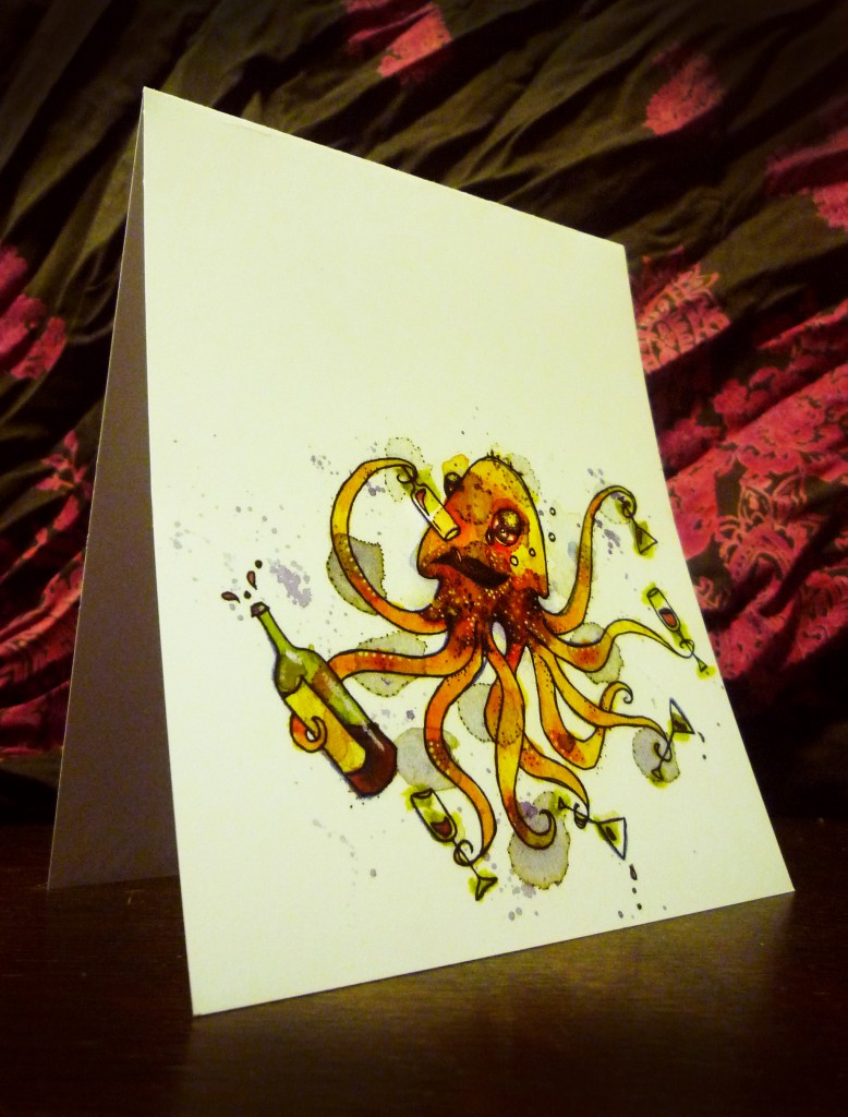 Whimsical Critters and Greeting Cards Meet