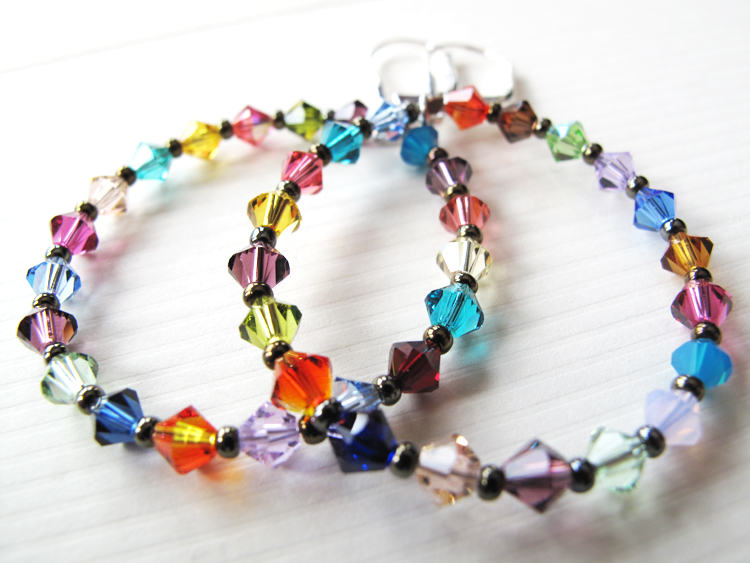 Modern, versatile, fun and colorful jewelry