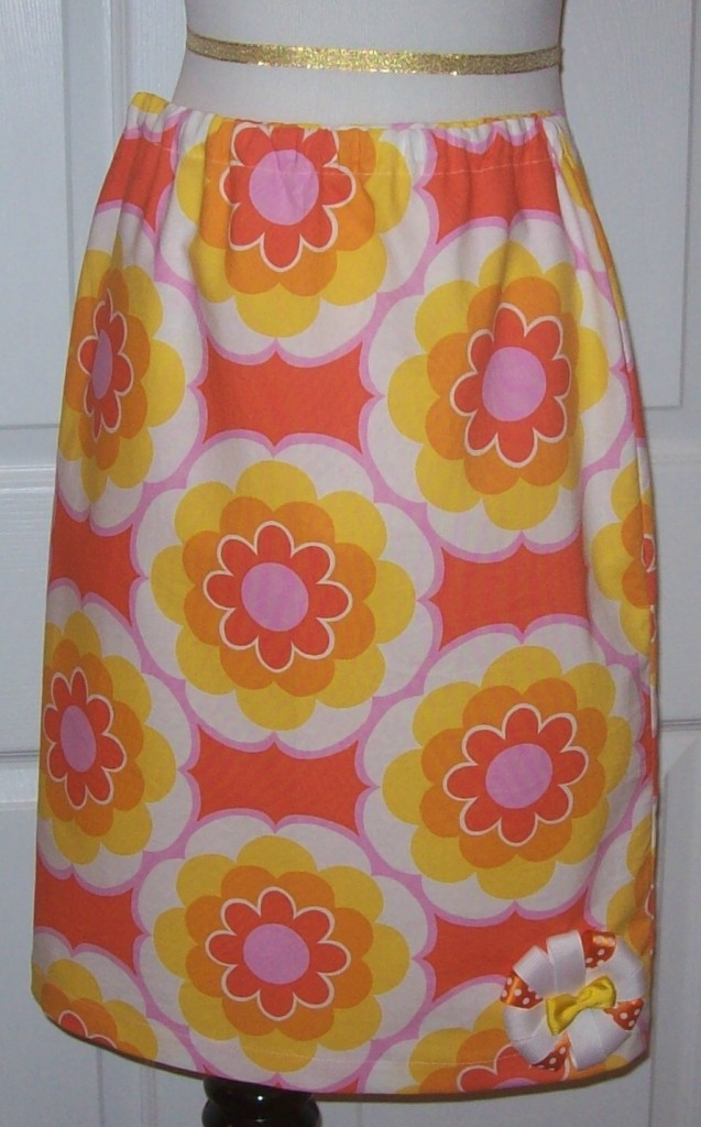 Colorful Modest Print Skirts