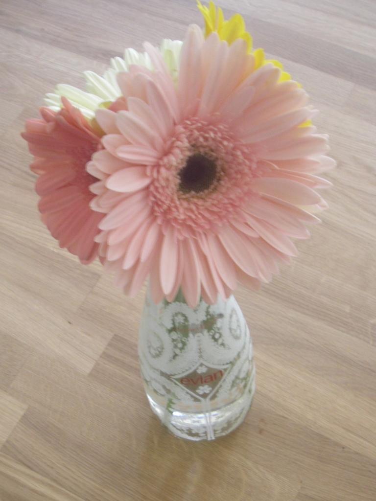 Evian Flower Vase