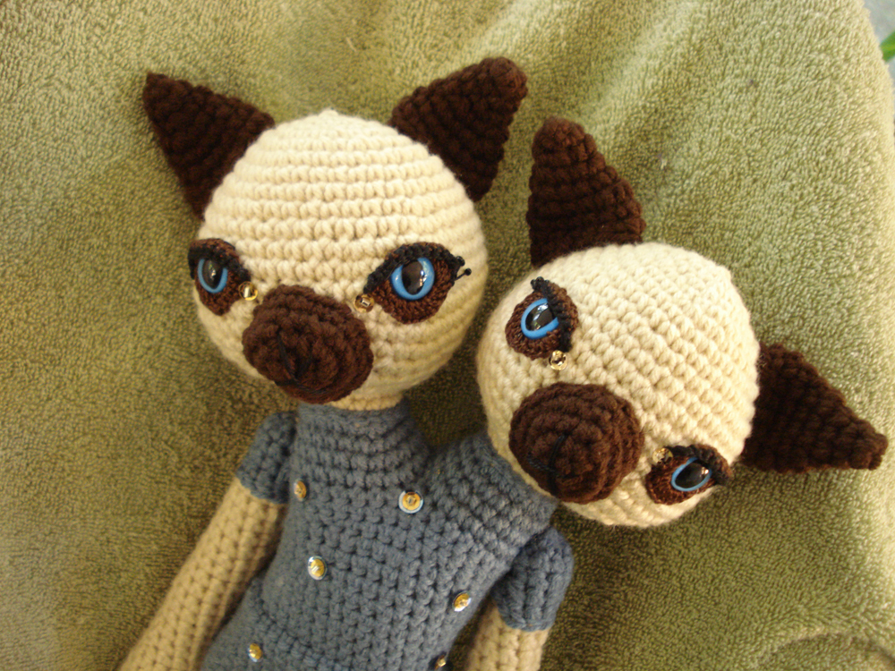 Unique, Crocheted Animal Dolls