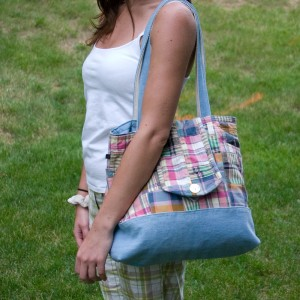 how to make bags out of clothes