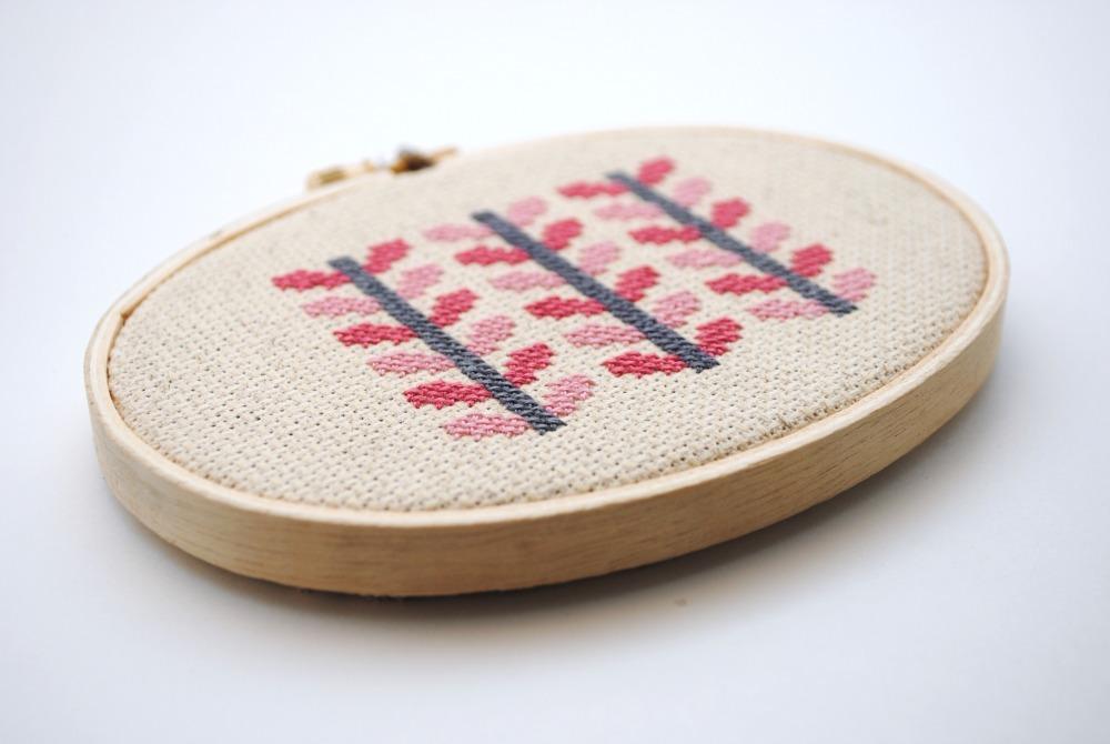 Modern and Happy Cross Stitching