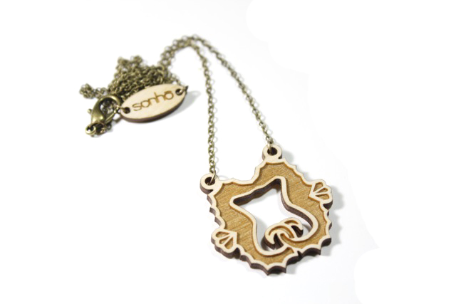 Quirky Laser Cut Wooden Charms