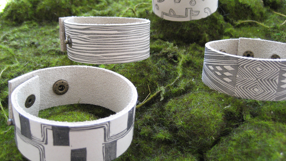 Handmade Jewelry Using Reclaimed Materials