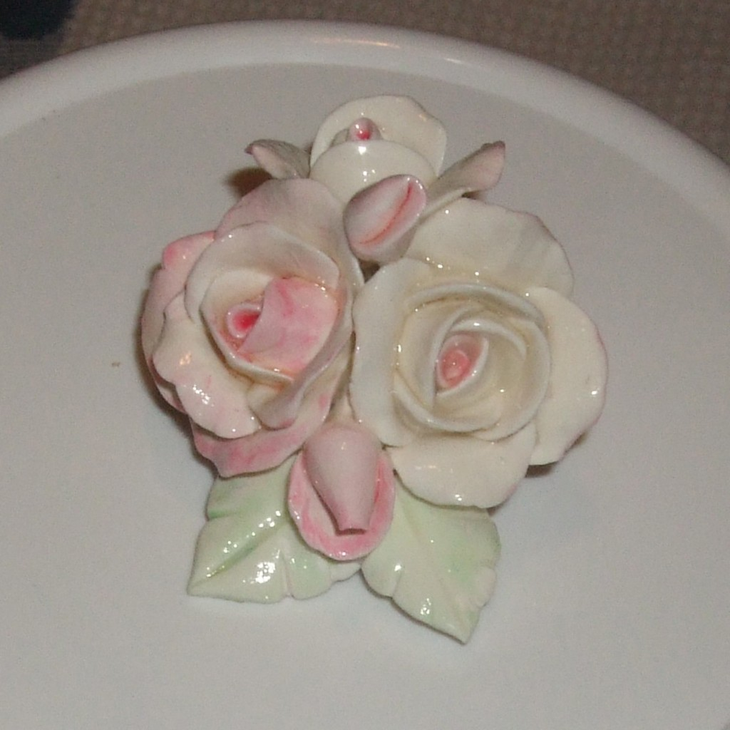 Handmade porcelain roses how to make china rose for How to sell handmade crafts on facebook
