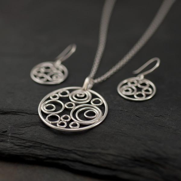 Handmade Argentium Sterling Silver Jewelry