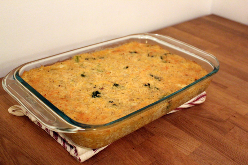 recipe for broccoli quinoa casserole