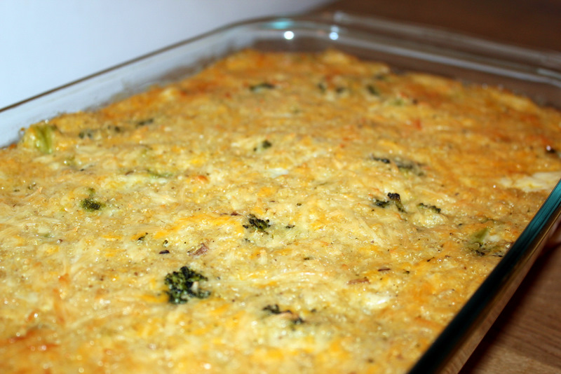 broccoli quinoa casserole recipe