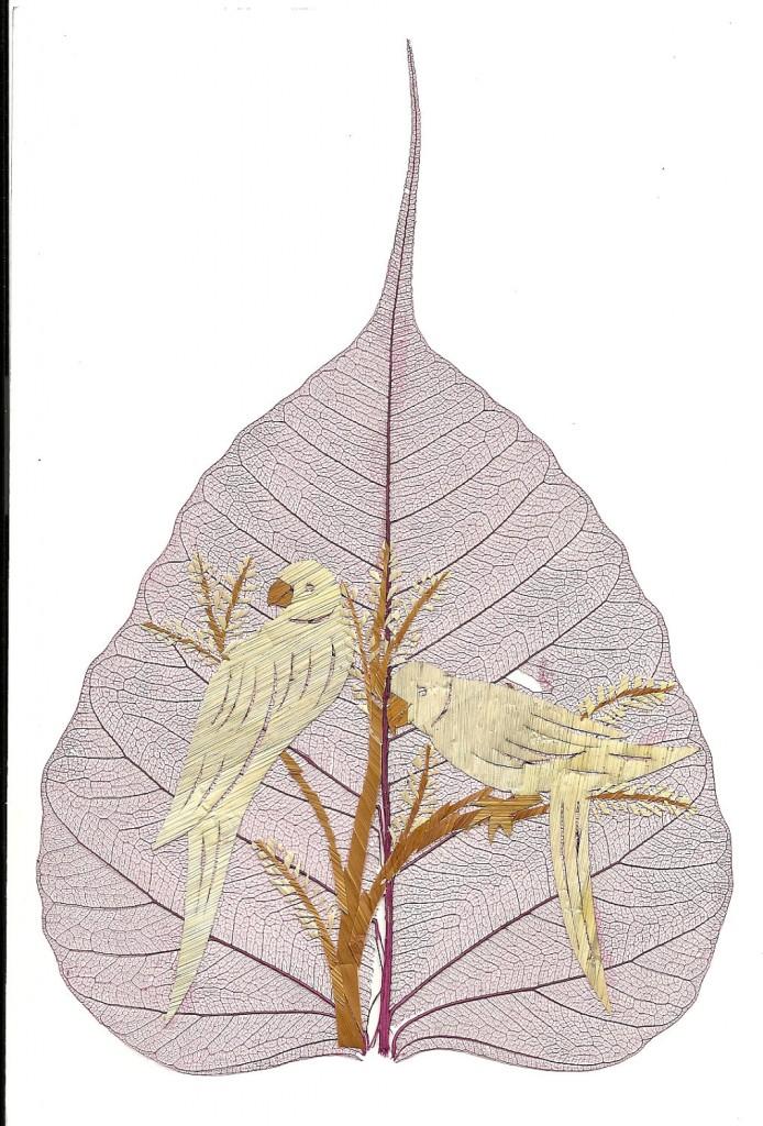 Ancient and Endangered Leaf Art