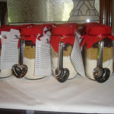 Mason Jar Cookie Mix Favors